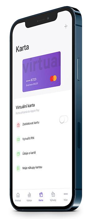 Přidání virutální karty do Google Pay