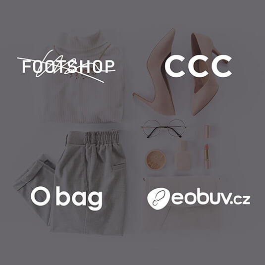 V mockapu tyto e-shopy: Obag, ccc.cz, eobuv, Footshop