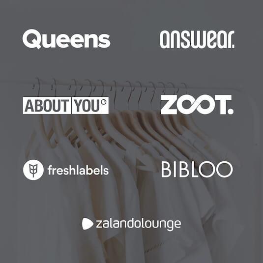 V mockapu tyto e-shopy: answear, about you, bibloo,  Freshlabels, Lindex, Zalando, Zoot